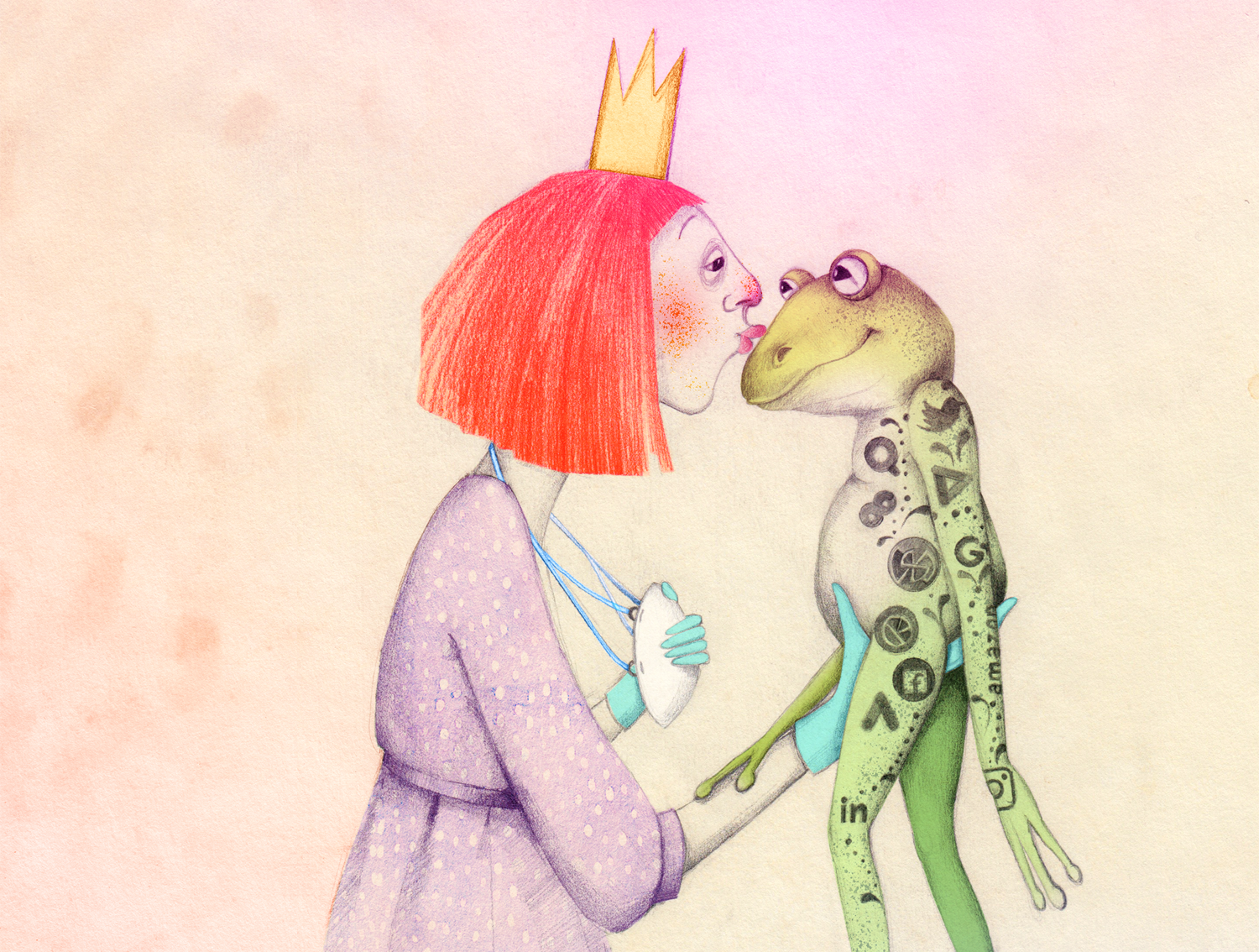 kiss the frog